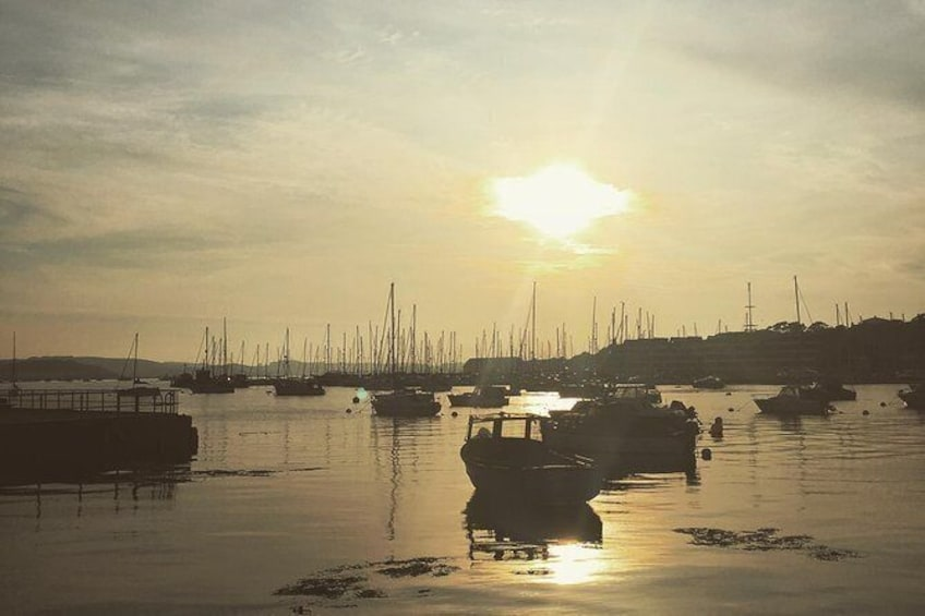 Show item 10 of 10. Sunset from the Royal William Yard