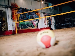 Indoor beach volleyball for all levels at The Sport Box