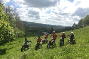 Motorcycle Trials and Off Road Experience Trydan Off Road Centre