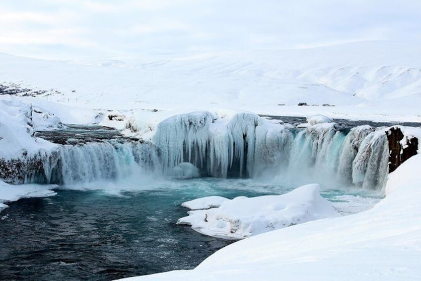 Show item 1 of 3. Goðafoss (Waterfall of the gods)