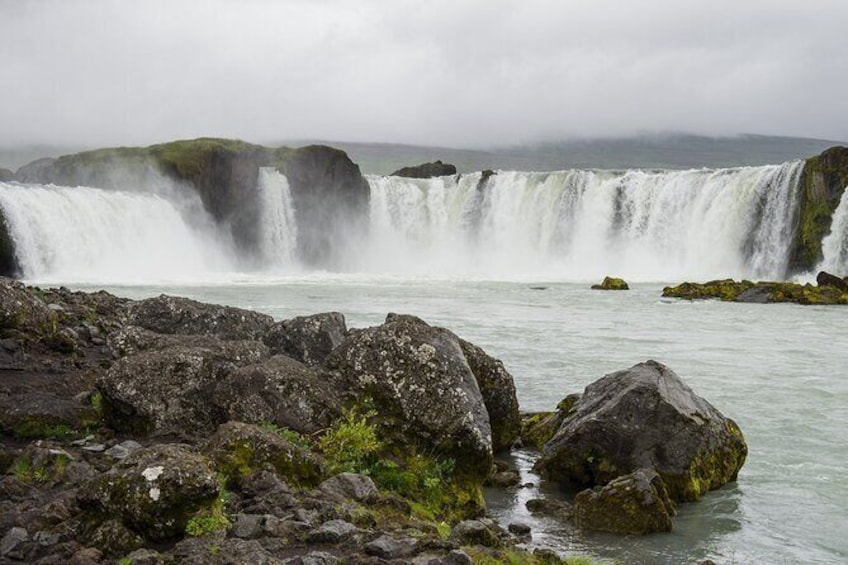 Show item 3 of 3. Goðafoss- Waterfall of the Gods Tour from Akureyri