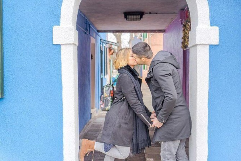 Show item 2 of 6. Photo Shooting in Burano island
