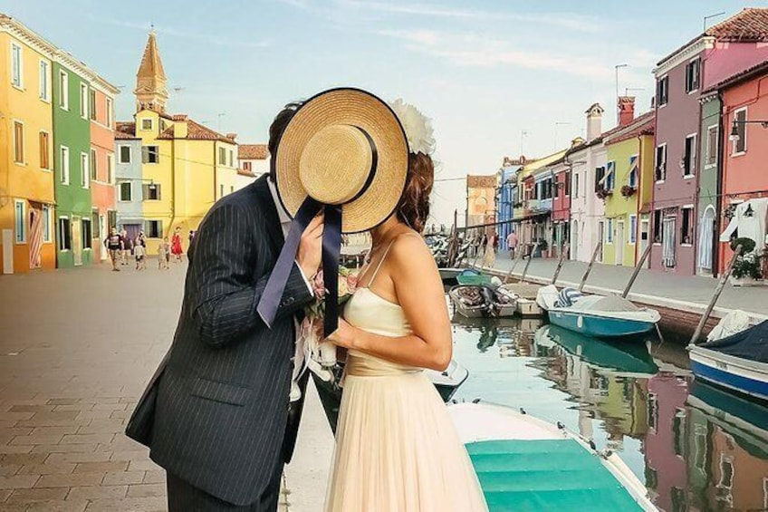 Show item 1 of 6. Photo Shooting in Burano island