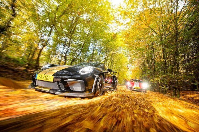 Guided road tours around the beautiful Nürburgring region