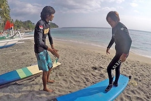 Beginner surf lesson private class - Adult