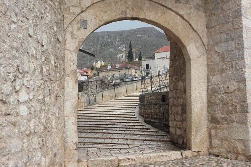 Show item 4 of 30. The Old Bridge was recently rebuilt and many of the edifices in the Old Town have been restored or rebuilt with the contribution of an international scientific committee established by UNESCO.