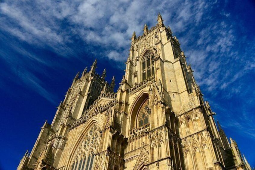 Show item 10 of 10. York Minster - the largest gothic cathedral in the country