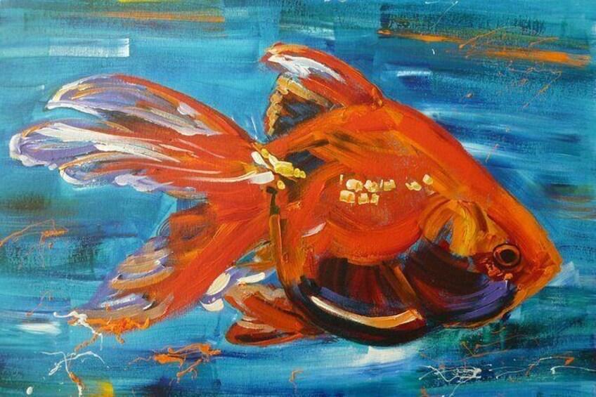 Show item 3 of 6. fish acrylic