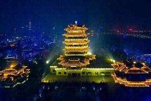 Private Night Tour of Jinan Furong Ancient Street and Daming Lake Light Sho...