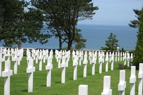 Normandy, From Sainte Mere Eglise to Omaha Beach; D-Day for the U.S.