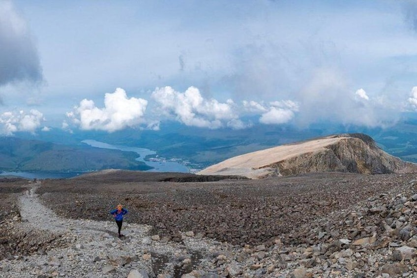 Ben Nevis summit walk via the Classic Route, bespoke guided experience.