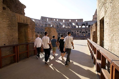 Colosseum Through The Back Door With Gladiator's Gate & Arena Floor with Eddie's Tours