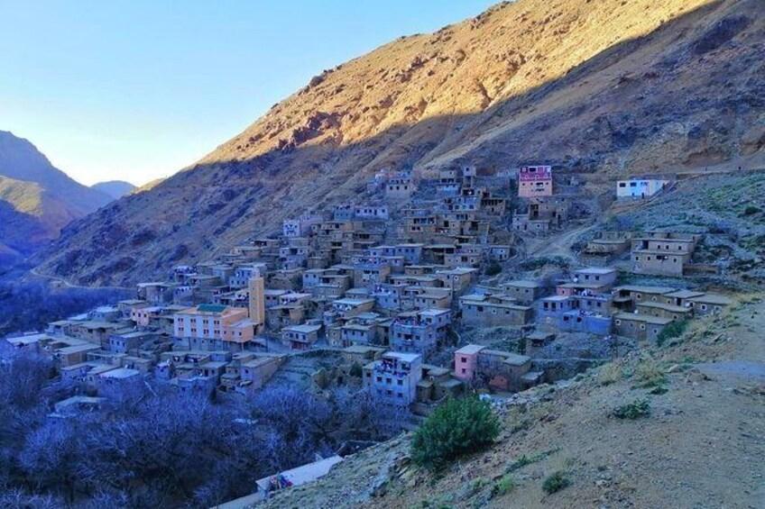 Show item 2 of 8. Day Trip: Waterfalls & Desert Agafay & Atlas Mountains & Camel ride