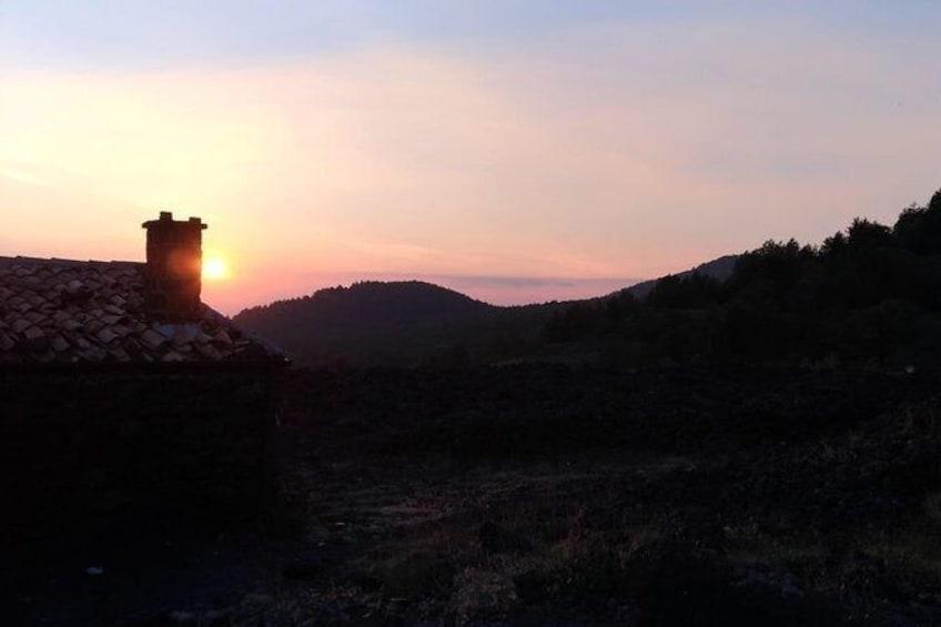 Show item 1 of 6. Etna at Sunset Half-Day Tour from Taormina