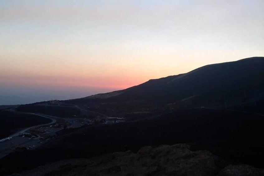 Show item 4 of 6. Etna at Sunset Half-Day Tour from Taormina