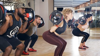 60 minute workout BodyPump at ALL IN fitness and health