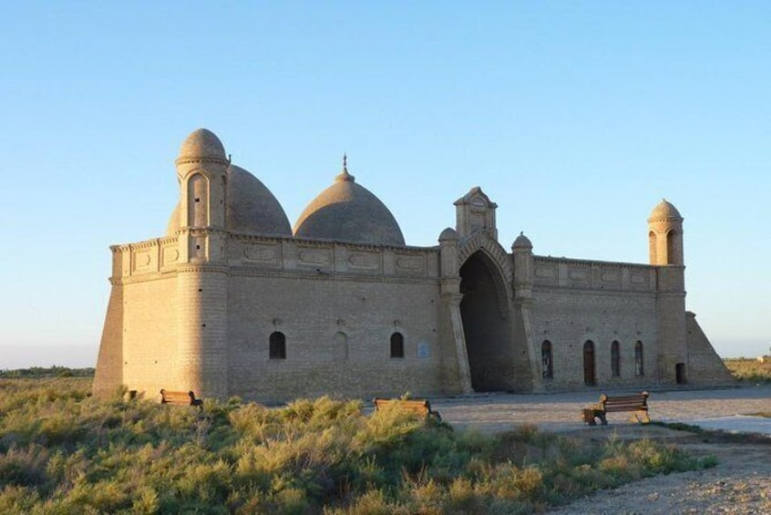 Show item 2 of 6. Arystan Bab and Khoja Ahmed Yasawi Mausoleums