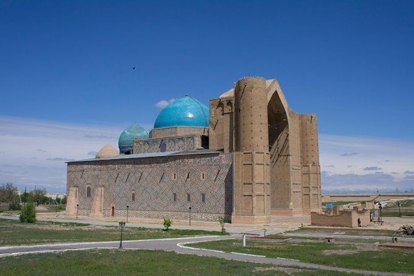 Show item 5 of 6. Arystan Bab and Khoja Ahmed Yasawi Mausoleums