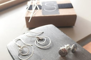 Jewellery Workshop - Make two pairs of eco- silver earrings