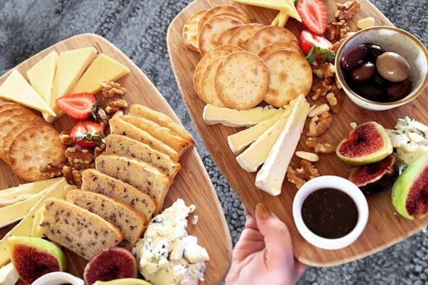 Cheese Boards at Riverbank Estate