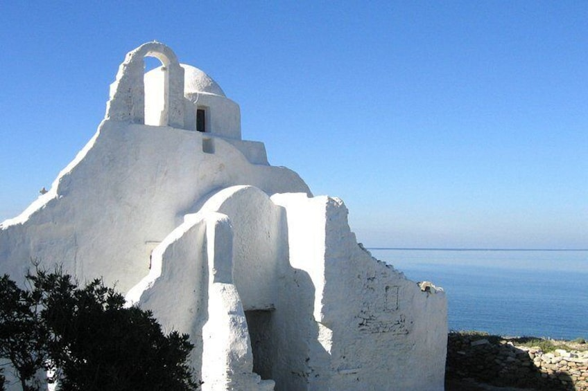 Paraportiani Church, the most photographed church in Greece.