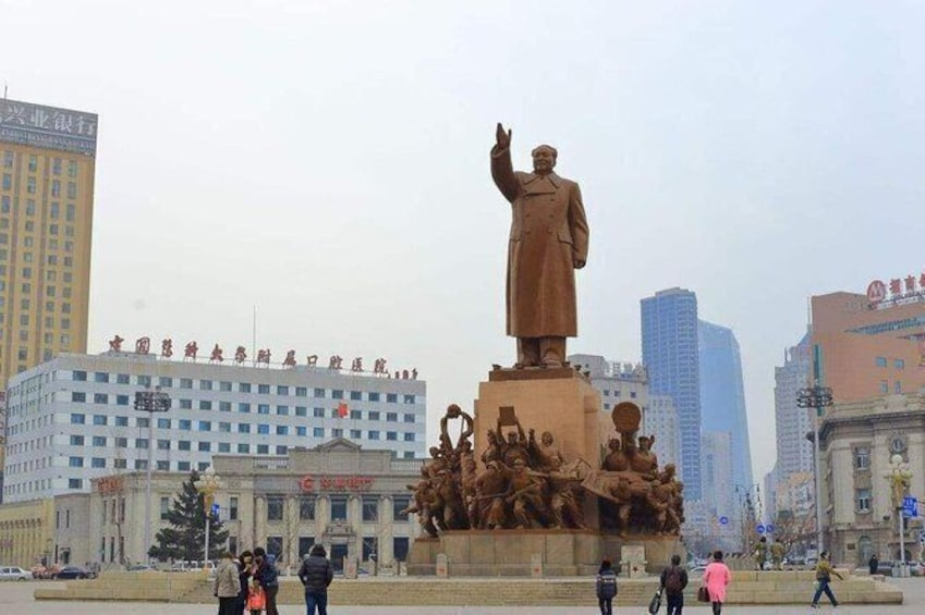 Show item 1 of 6. 4-Hour Private Tour to Shenyang Zhongshan Square and Xingshun Night Market