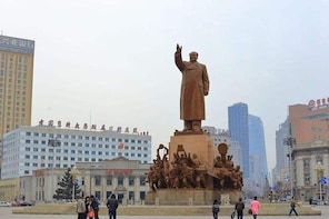 4-Hour Private Tour to Shenyang Zhongshan Square and Xingshun Night Market