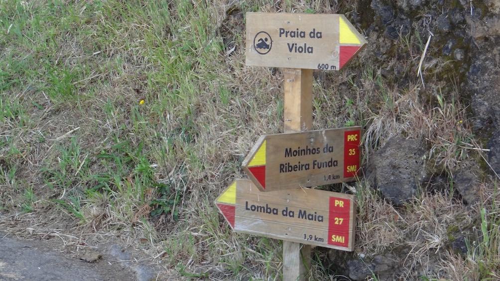 Walking Tour Ribeira Funda & Praia da Viola (Full Day)