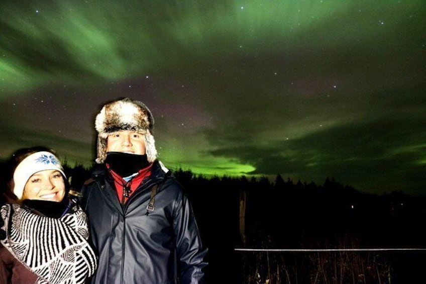 Northern Lights 4x4 Jeep Tour from Akureyri (max 6 in jeep)