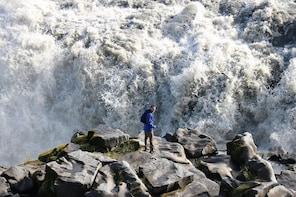 Akureyri North Iceland Waterfalls and Nature Baths Small-Group Tour