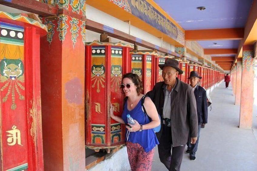 Show item 2 of 2. Overnight Trip to Rebgong: Exploring Tibetan Thangka Arts