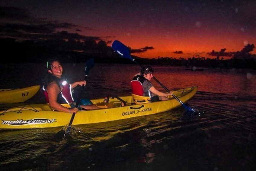 Show item 6 of 6. Night BioBay Kayak Tour from Vieques