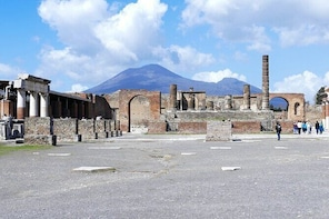 Mt. Vesuvius and Pompeii Day Trip from Naples all-inclusive