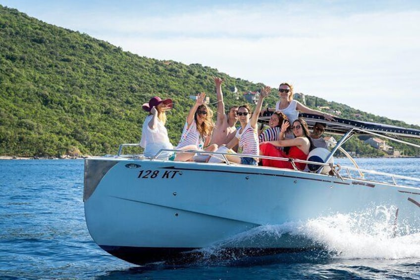 Kotor Boat Tour - Lady of the the Rocks - Blue Cave - Every 3 hours