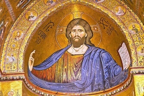 Monreale tour: stunning mosaics and beautiful blend of christian and islami...