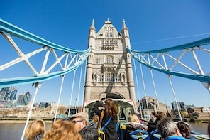 Tootbus Must See London: Hop-on Hop-off Bus Tour and Thames River Cruise