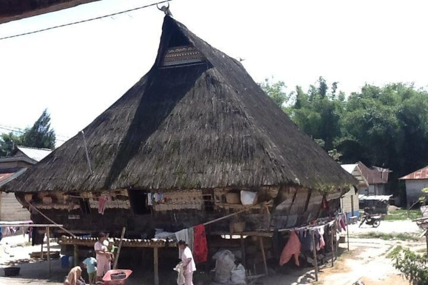 Traditional Karo Batak House