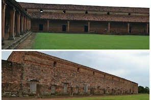 Visit Encarnacion and Jesuit Ruins