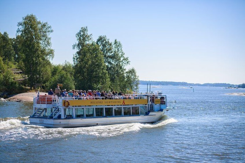 Beautiful Canal Route, 1,5h archipelago cruise