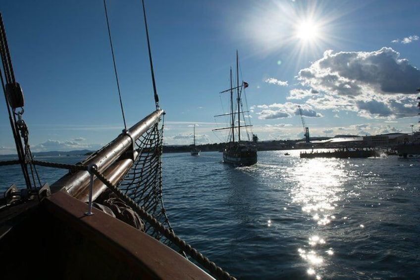 Great sights in the inner part of the Oslofjord