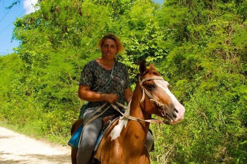 Horseback Riding an Cave swimming From Bayahibe