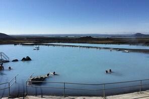 Biking Tour and Myatn Nature Baths from Reykjahlid