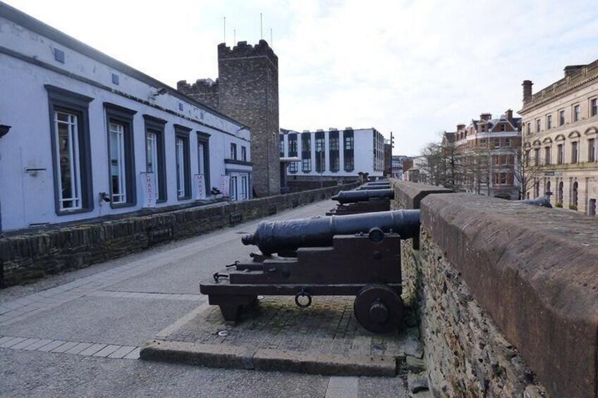 Show item 5 of 6. Derry Walls.
