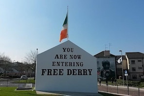 Bloody Sunday and Bogside Derry Murals Private Walking Tour