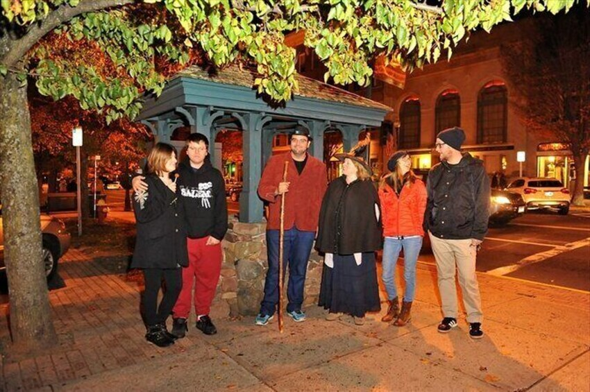 Show item 8 of 8. New Haven's Ghost Walk