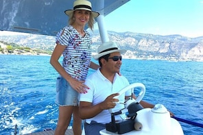 Romantic Private Tour on a Solar Powered Boat - From Nice & Monaco