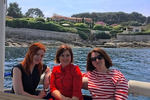 French Riviera Heartland on a Private Solar Powered Boat - From Nice & Mona...