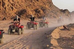 Sharm El-Sheikh : Quad Bike & Desert Safari Adventure with Transfers