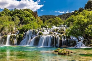 National Park Krka Private Return Day Transfer by Minivan