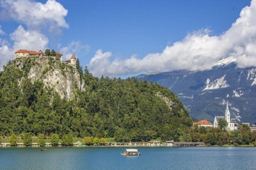 Bled - Castle - Island